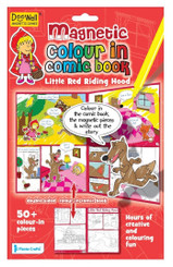 Little Red Riding Hood - Magnetic Colour In Play Scene
