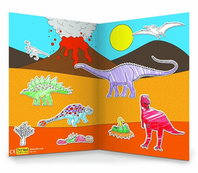 Dinosaurs Magnetic Colour In Play Scene example