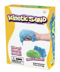 Kinetic Sand - Blue & Green