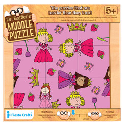 Dr Bafflers Muddle Puzzle 9 PIECE Princess
