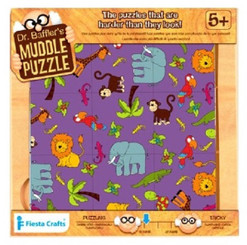 Dr Bafflers Muddle Puzzle Jungle 9 PIECE