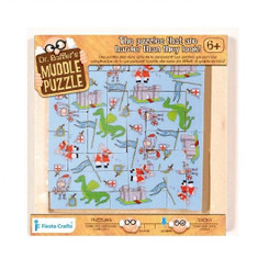 Smaller - Dr Bafflers Muddle Puzzle KNIGHT 22 PIECE