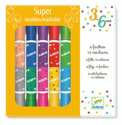 Djeco Twin Washable Markers