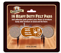 Heavy Duty Felt Pads: 16 Pieces