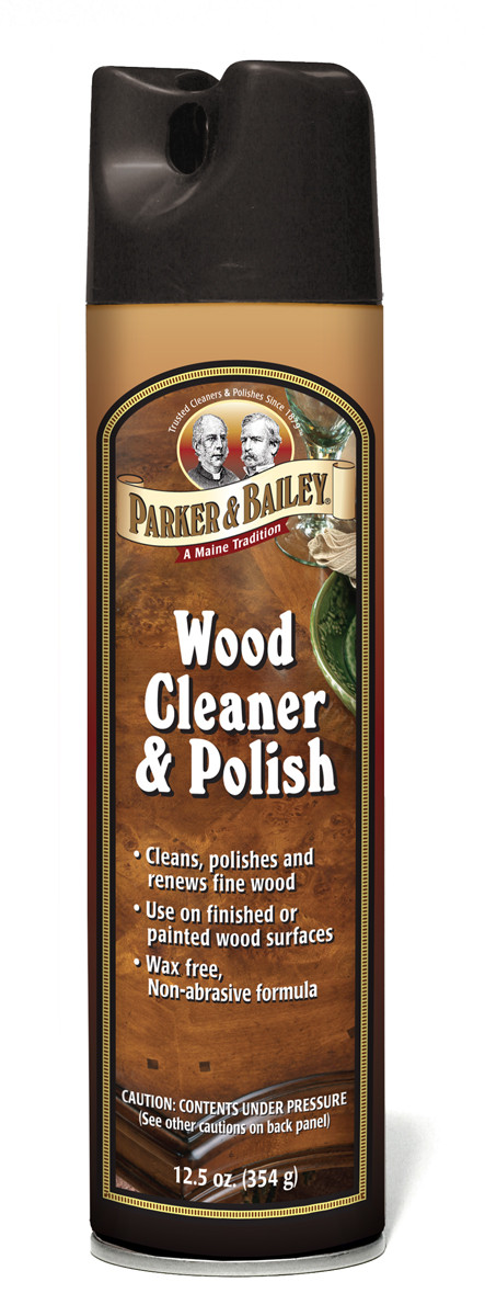 how to clean and polish wood cabinets