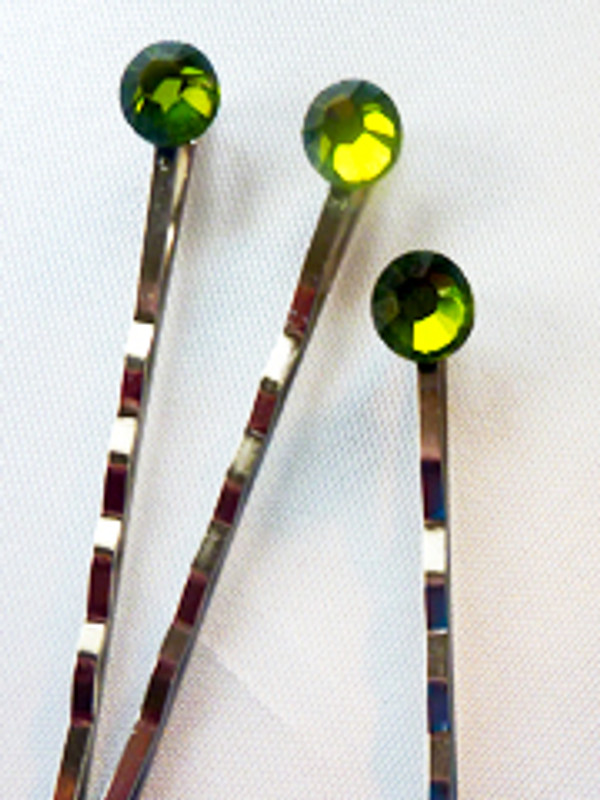 Tinsel Hair Pins