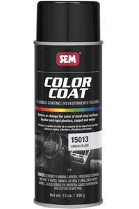 SEM Color Coat Paint - Landau Black 15013