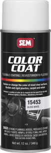 SEM Color Coat Paint - Gloss White 15453