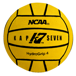KAP7 Size 4 HydroGrip Water Polo Ball (NCAA and NFHS Official)