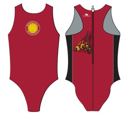 Mission Hills Womens Flash Water Polo Suit