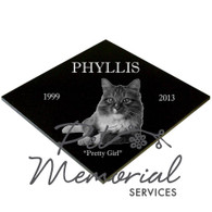 PHYLLIS Pet Memorial marker