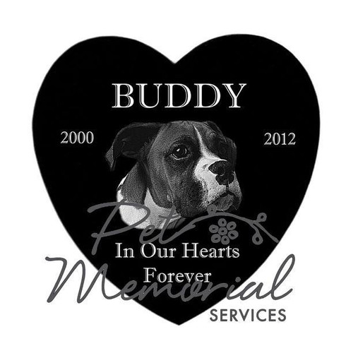 """BUDDY"" PET MEMORIAL MARKER"
