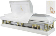 M6314 FS 18-Gauge protective metal casket