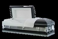 M-Superior DC 20-Gauge protective metal casket w/brushed sides