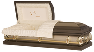 M-Going Home  20-Gauge protective metal casket