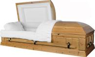 "W8746 FS ""Solid Cedar"" hardwood casket"