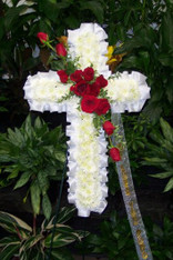 FLORAL CROSS 1
