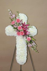FLORAL CROSS 6
