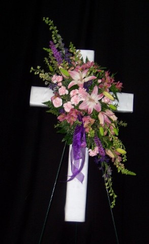 FLORAL CROSS 9
