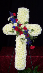FLORAL CROSS 10