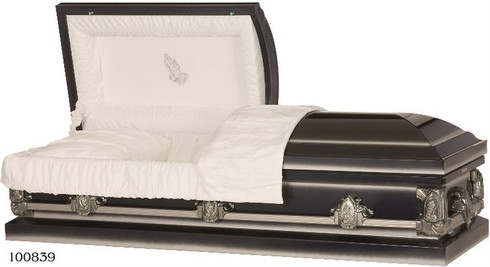 M-Evening Prayer  20-Gauge Protective metal casket