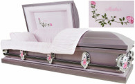 M2211FS Mother casket in Lavender