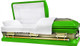 M-8405-FS - 18ga Lime Green Casket W/ Gold Brush White Velvet Interior, Gold Hardware