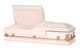 M-Classic-DC   20 Gauge Non-Protective  White with pink trimming and pink crepe interior