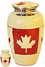 Urn FS 143-A Brass Canadian w/token