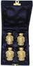 Urn FS 001-C - 4 Mini Brass Urn Velvet Box
