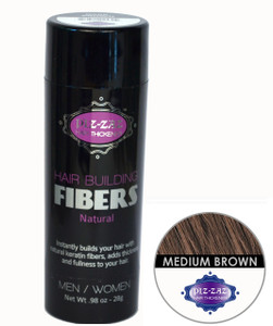 Hair Building Fibers - Md Brown