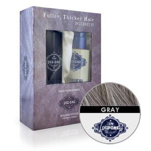 Hair Fibers & Spray Kit - Grey