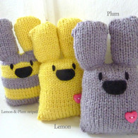 Handknitted Woolly Bunnies