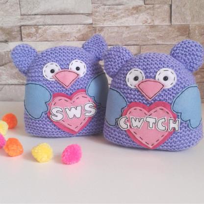 Welsh LoveBirds Knitting Kit