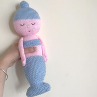 mermaid knitting kit