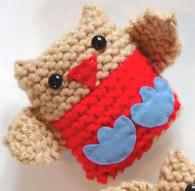Jingly Robins Learn To Knit Kit *STARTER KIT*