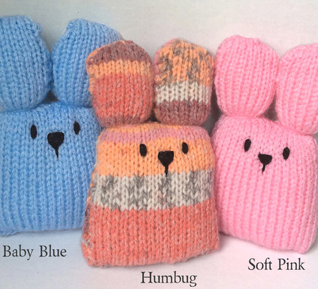 Easter Bunny Mini Knitting Kit