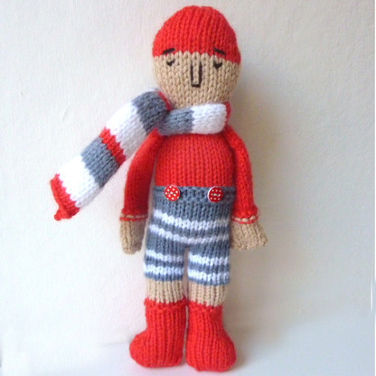 Sailor Doll Knit Kit