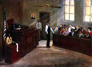 Justice,Black lawyer.African American Culture, Paintings, Ellis Art, Buy Art, Purchase  Limited Edition Giclee  Size: 22x28 Edition Size: 100