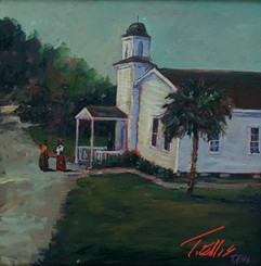Our Worship House, 15x15, T. Ellis original, $3650.00
