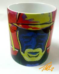 Colored Man-Collectible Art Mug $19.95