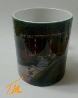 Springtime-T. Ellis collectible  art mug $19.95