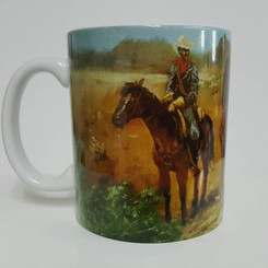 Protecting the Frontier-T. Ellis Collectible Art Mug $19.95