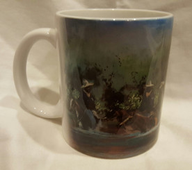 Buffalo Soldiers-T. Ellis collectible  art mug $19.95