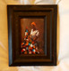 Mama's First Quilt, 6x4 T. Ellis miniature original framed $850.00