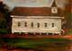 Where I Love to Come to Worship, 5x7 T. Ellis miniature original framed $1500.00