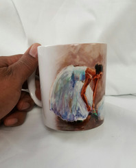 """The Love of Dance"", T. Ellis collectible art mug  $19.95 www.tellisfineart.com"