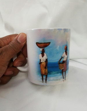 """Our Paradise"", T. Ellis collectible art mug  $19.95 www.tellisfineart.com"
