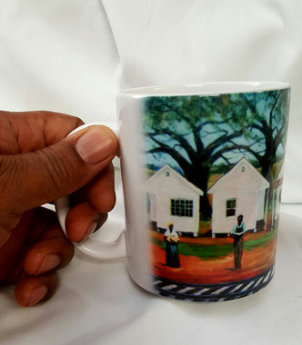 """We own this Land"", T. Ellis collectible art mug  $19.95 www.tellisfineart.com"