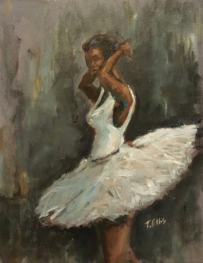 Prima Ballerina, 18x14 T. Ellis original  $3850.00